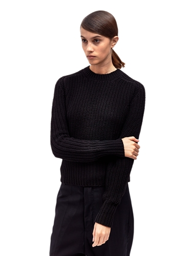 Rick Owens Women's Lupetto Fisherman's Sweater Ln Cc