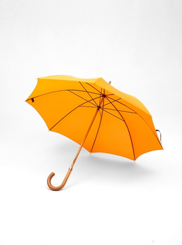 London Undercover City Gent Lifesaver Orange Umbrella Present London