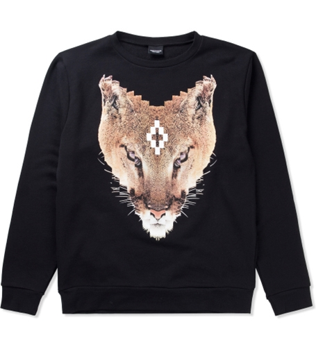 Marcelo Burlon Black Colin Sweater Hypebeast Store