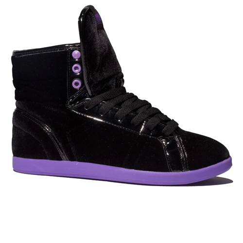 Blk Pur Velvet Soha Shoes Girls Osiris Shoes