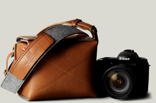 Box Camera Bag Compact Leather Camera Bag Hard Graft