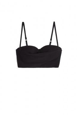 Acne Rue Li Mix Bustier By Acne