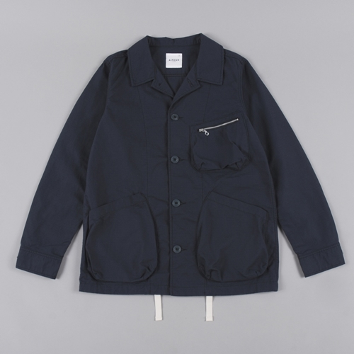 A.Four Ripstop Jacket Charcoal