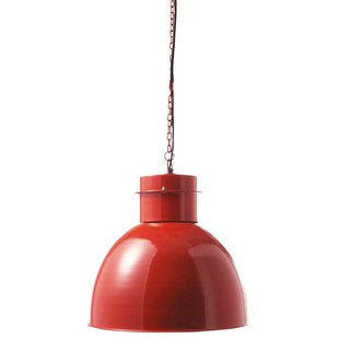 Canberra red pendant lamp Light fittings Maisons du Monde