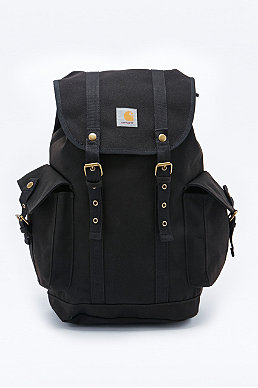 Carhartt Canvas Backpack In Black