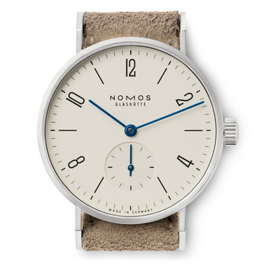 Nomos Tangente 33 Ladies Watch Steel Back Manufactum