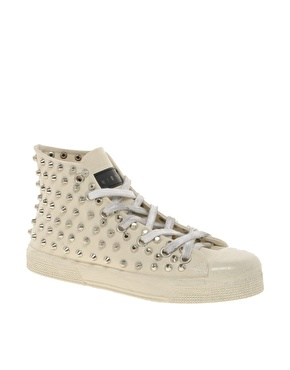 Gienchi Gienchi Gasop Studded High Top Trainers at ASOS