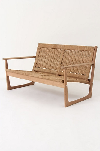 Cordage Settee Anthropologie com