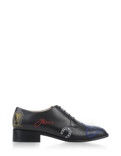 Carven Laced Shoes Carven Footwear Women Thecorner.Com