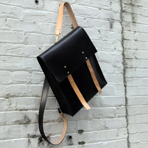Fancy Leather Rucksack by Mifland