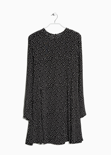 Printed Shift Dress Women Mango