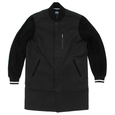 Nike Nsw Destroyer Trench Coat Black