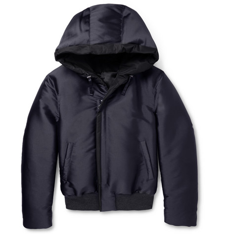 Lanvin Quilted Hooded Jacket Mr Porter