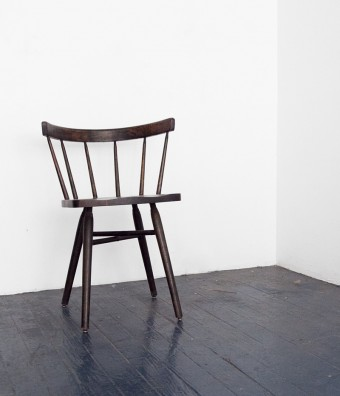 Shop Sit and Read Straight Back Chair in the style of George Nakashima