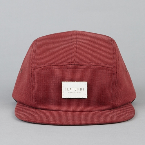 Flatspot Flatspot AIC 5 Panel Cap Corduroy Henna
