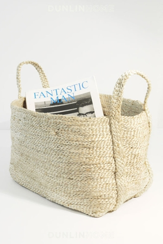 DUNLIN Jute Storage Collection Medium Basket Natural