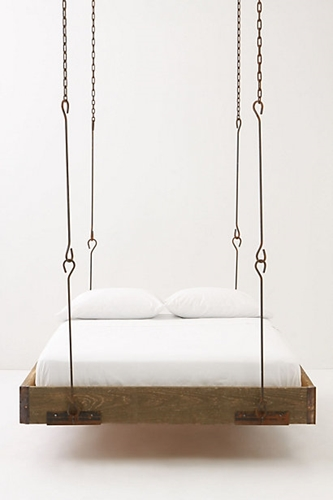 Barnwood Hanging Bed Anthropologie com