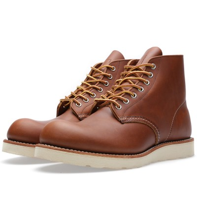 Red Wing 9107 Heritage Work 6 Round Toe Boot Oro Iginal