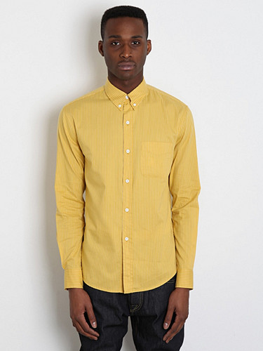 Band of Outsiders Pin Stripe Oxford Shirt