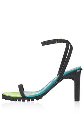 Colour Block Strappy Sandals By Marques'almeida X Topshop View All Shoes Topshop