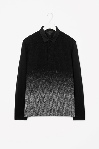 Wool Front Polo Shirt