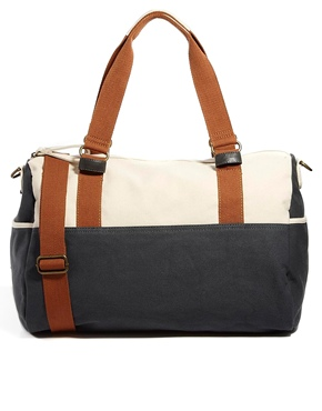 Asos Asos Holdall In Block Colour At Asos