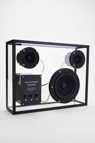 People People Transparent Speaker Urban Outfitters