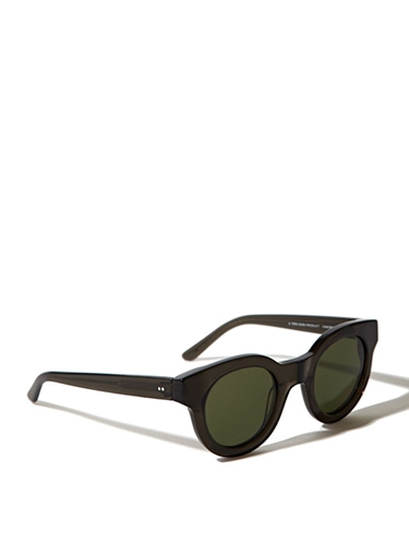 Sun Buddies Type 02 Men's Sunglasses In Transparent Grey