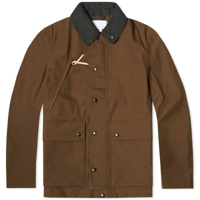 Nanamica Gore Tex Field Jacket Olive Brown