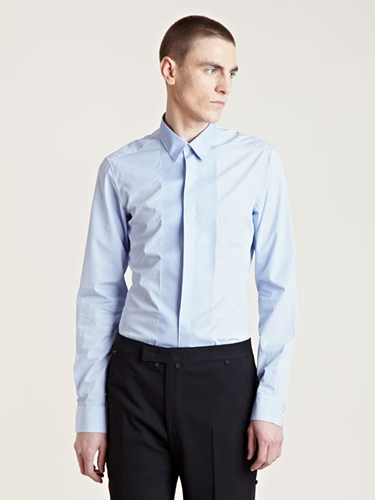 Lanvin Men's Pinstriped Show Shirt