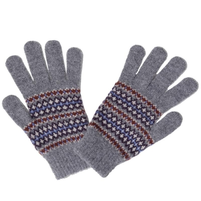 Barbour Dunkeld Glove Grey Marl 