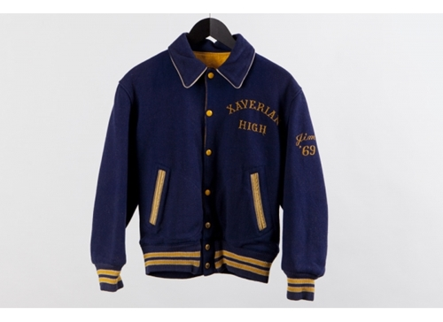 Red Wing Shoes Vintage Xaverian Varsity Jacket Blue Yellow