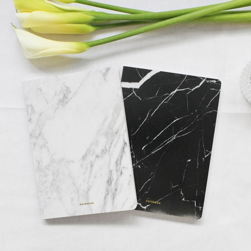 Marble Blank Notebook Poketo