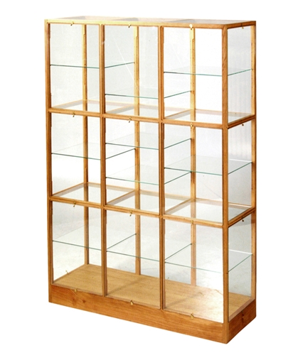 Cibone Oak Display Cabinet