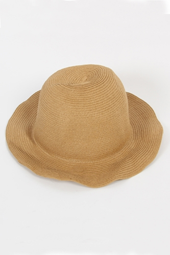 P A M Warped Record Hat in Tan