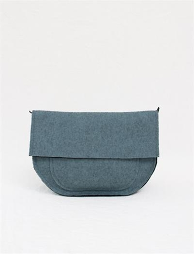 Creatures Of Comfort Clutch Bag Double Knit Sky
