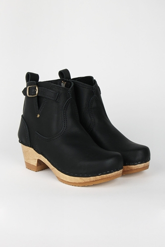 Good As Gold Online Clothing Store Mens Womens Fashion Streetwear Nz 5 Inch Buckle Boot Mid Heel Black