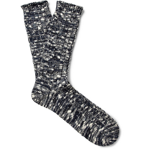 Anonymous Ism Marled Cotton Blend Socks Mr Porter