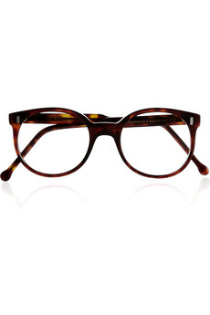 Cutler and Gross Round frame tortoiseshell optical glasses NET A PORTER COM