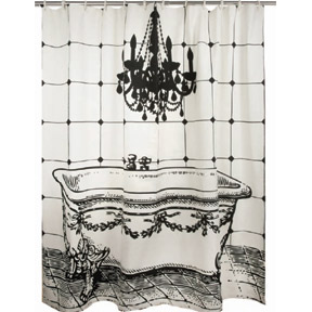 Thomas Paul Luddite Shower Curtain at Velocity Art And Design Your home for modern furniture and accessories in Seattle and the US