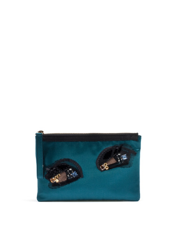 Lanvin Les 10 Ans Eye Clutch Small Leather Goods Women New Arrivals