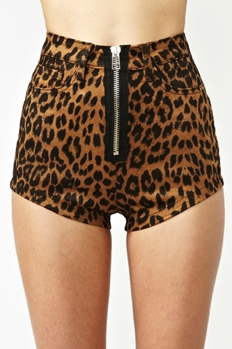 Leo Zip Shorts In What's New At Nasty Gal