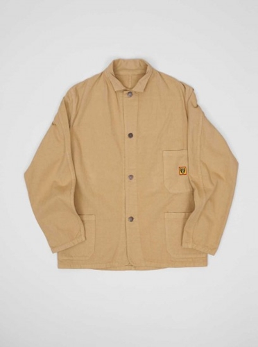 Human Made Twill Coverall Beige Present London