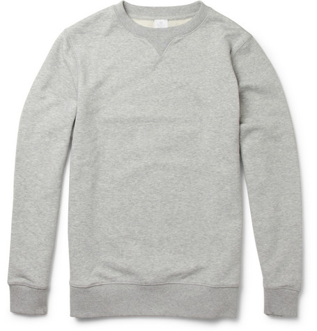 Sunspel Loopback Cotton Jersey Sweatshirt Mr Porter