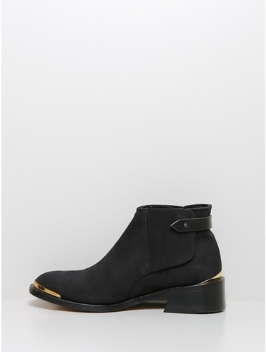 Patti Nubuck Boot Black Oak