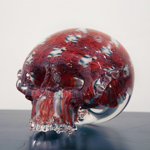 Red Clear Skull ALL OBJECTS