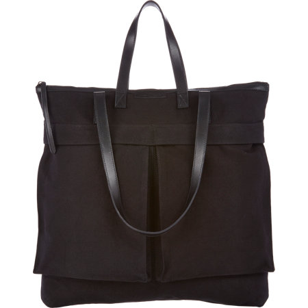 Dries Van Noten Double Handle Canvas Tote At Barneys.Com