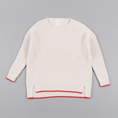 Wood Wood Celesse Sweater Eggnog Red