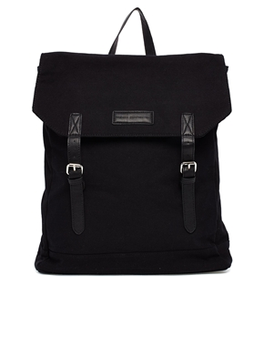 French Connection French Connection Canvas Backpack At Asos