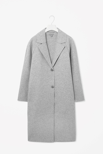 Clean Edge Wool Coat
